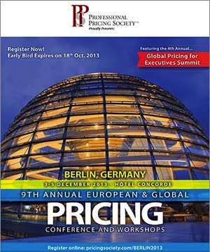 PPS 9th Annual European & Global Pricing Conference in Berlin