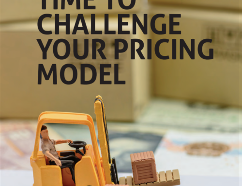 Time to challenge your pricing model