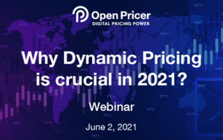 Webinar: Why Dynamic Pricing is crucial in 2021?